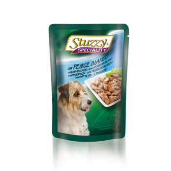 Stuzzy Dog Speciality Peste Alb 100 g