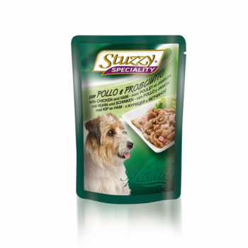 Stuzzy Dog Speciality Pui si Sunca,100 g