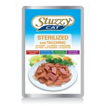 Stuzzy Cat Sterilized Curcan,100 g