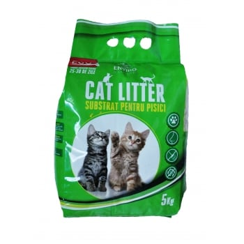 Asternut pentru Pisici Enviro, 5 kg