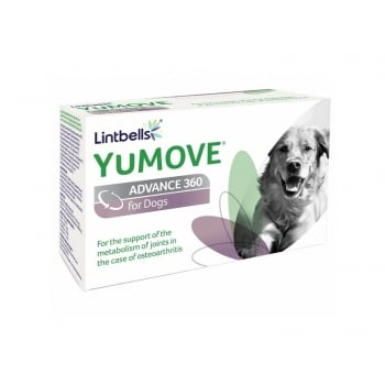 Supliment Nutritiv Pentru Caini Lintbells Yumove Advance 360, 120 Tablete