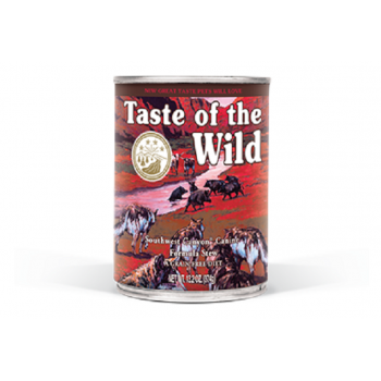 Pachet Conserve Taste of the Wild Southwest Canyon 12x390 g
