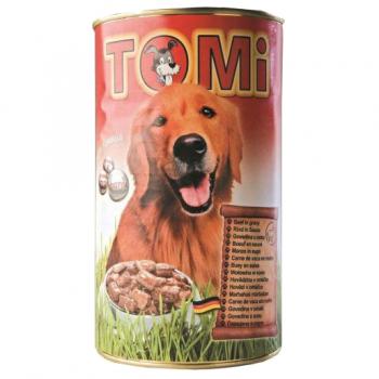 Conserva Tomi Dog cu Vita, 1.2 kg