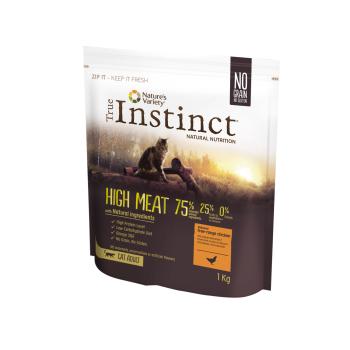 True Instinct Cat High Meat cu Pui, 1 kg