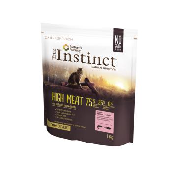 True Instinct Cat High Meat cu Somon si Ton, 1 kg
