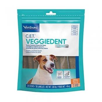 Veggiedent Dental Chew Virbac FR3SH S (5-10 kg), 30 bucati