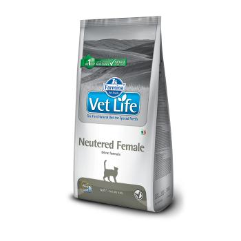 Vet Life Cat Neutered Female, 2 kg