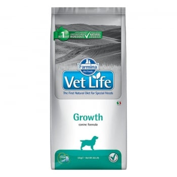 Vet Life Natural Diet Dog Growth 12 kg