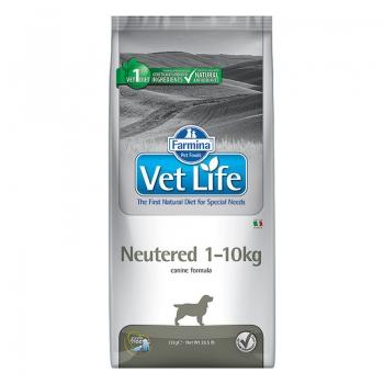 Vet Life Dog Neutered 1-10 Kg, 10 kg