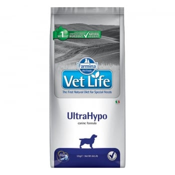 Vet Life Natural Diet Dog Ultrahypo 12 kg