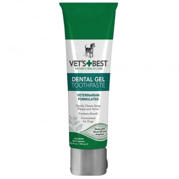 Vet's Best Supliment Nutritiv pentru Caini, Gel Dental Care, 100 g imagine