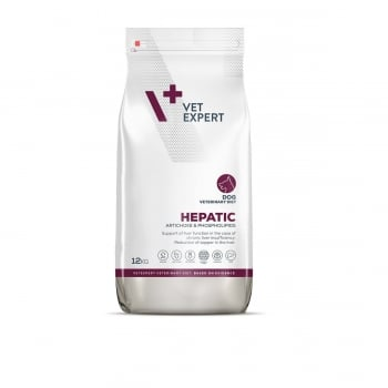 4T Veterinary Diet Hepatic Dog, 12 Kg imagine
