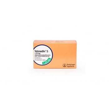 Vetmedin 1.25 mg, 50 tablete masticabile