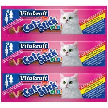 Cat Stick Mini Cod si Ton - 3 bucati x 6g