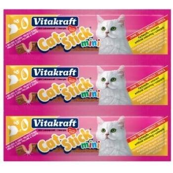 Cat Stick Mini Pasare si Ficat - 3 bucati x 6g