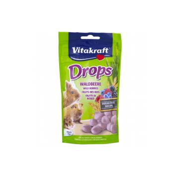 Vitakraft Drops Rozatoare Fructe De Padure, 75 g imagine