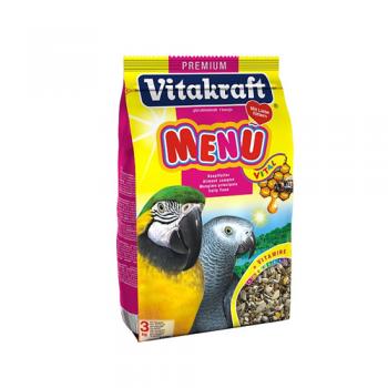 Vitakraft Meniu papagal - 3 kg