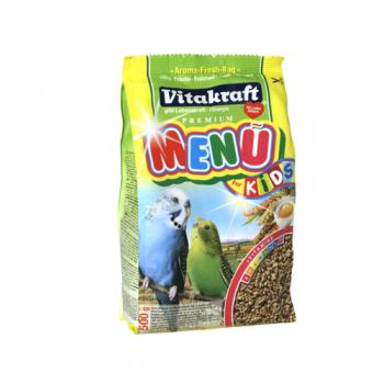 Pachet Vitakraft Meniu Perl's Perus Junior, 3 x 500 g