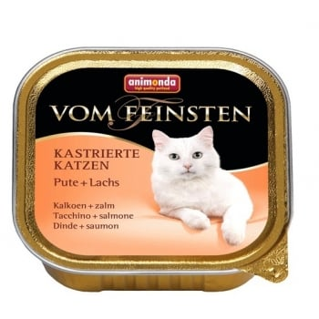 Vom Feinsten Pisici Castrate Curcan si Somon 100 g