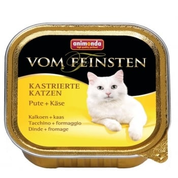 Vom Feinsten Pisici Castrate Curcan si Branza 100 g