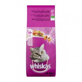 Whiskas Adult cu Miel si Ficat, 14 kg imagine