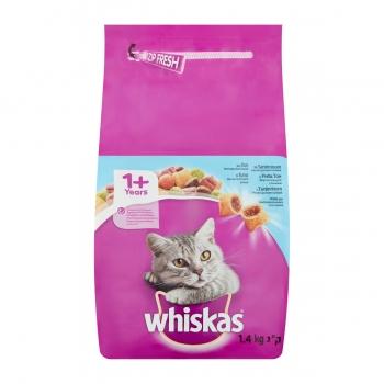 Whiskas Adult cu Ton si Ficat, 1.4 kg