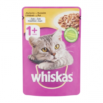 Whiskas Pui in Aspic 100 g