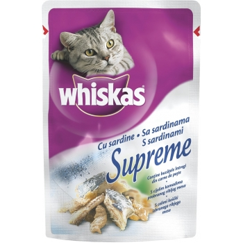 Whiskas Supreme Sardine 85 g