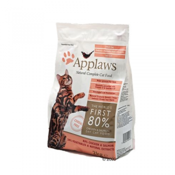 Applaws Cat Adult Pui si Somon 2 kg