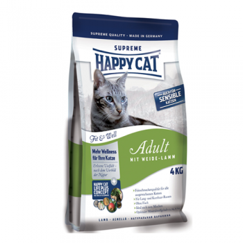 Happy Cat Supreme Adult cu Miel 4 kg