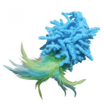 Kong Cat Moppy Ball Feathers