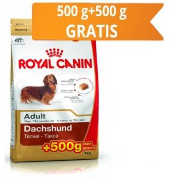 Royal Canin Dachshund (Teckel) 500 g + 500 g Gratuit