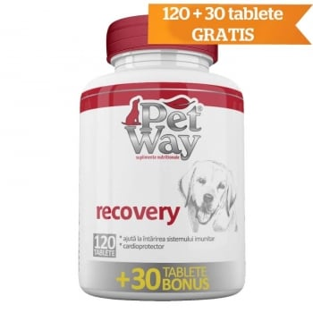 Supliment Nutritiv Petway Recovery - tablete 120+30 Bonus imagine