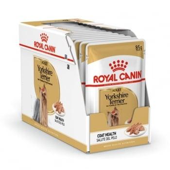 Pachet Royal Canin Yorkshire Adult, 12 x 85 g imagine