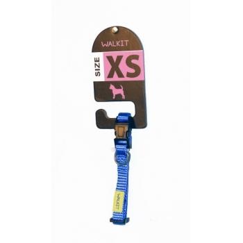 Zgarda Caine Walkit XS, 1.0 x 20-30 cm, Albastru