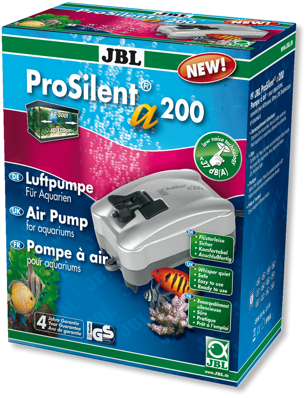 Pompa pentru acvariu JBL ProSilent a200