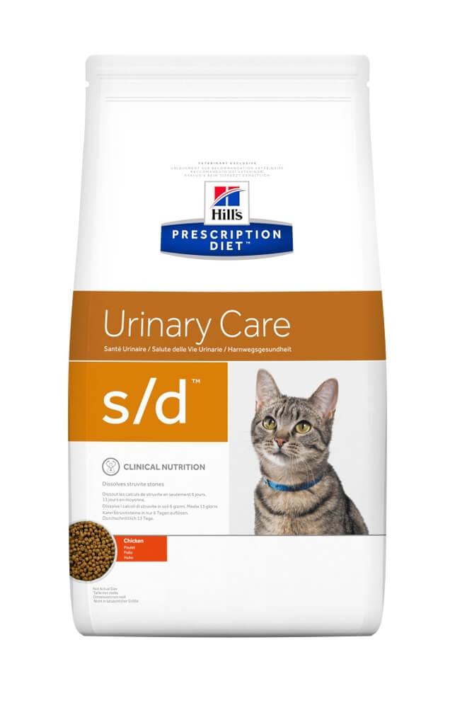 Hill`s PD Feline s/d - Dizolvarea Struvitilor, 1.5 kg