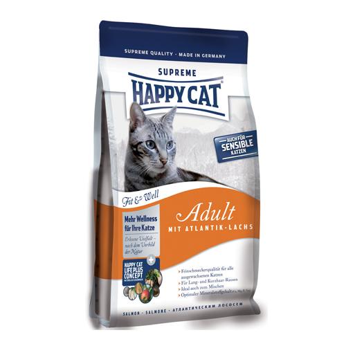 Happy Cat Supreme Adult cu Somon Atlantic 10 kg