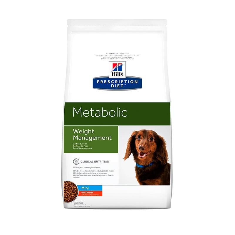 Hill`s PD Canine Metabolic-Obezitate, Mini, 1.5 kg