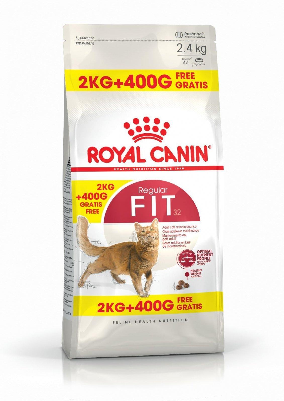 royal canin fit 32 2kg 400 g. Black Bedroom Furniture Sets. Home Design Ideas