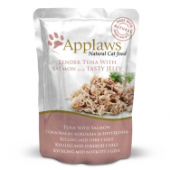 Applaws Cat Adult File de Ton si Somon in Aspic Plic 70g